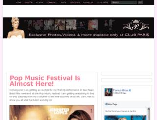 typepad.parishilton.com screenshot