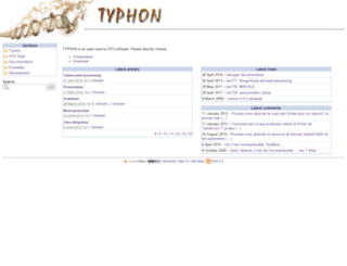 typhon.sourceforge.net screenshot
