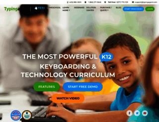 typingagent.com screenshot