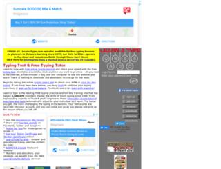 typingtest.org screenshot