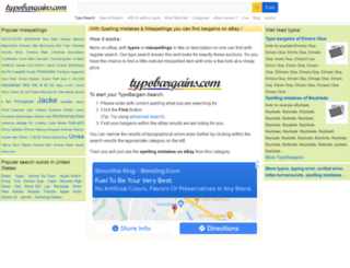 typobargains.com screenshot