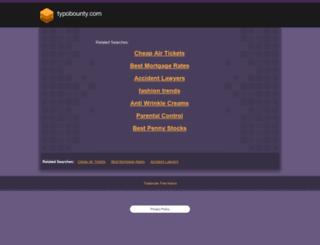 typobounty.com screenshot