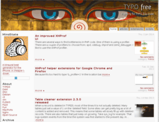 typofree.org screenshot