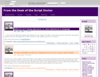 typographer.dreamwidth.org screenshot
