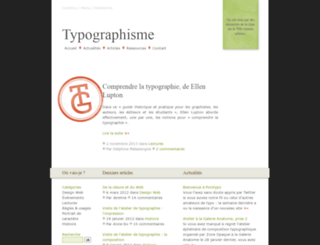 typographisme.net screenshot