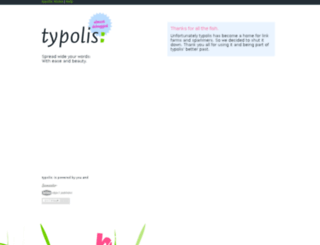 typolis.net screenshot