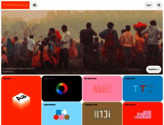 typotheque.com screenshot