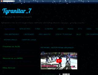 tyranitar7.blogspot.com screenshot
