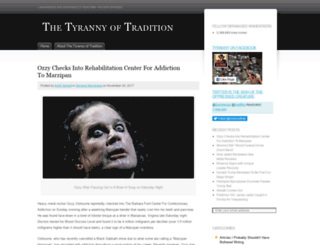 tyrannyoftradition.com screenshot