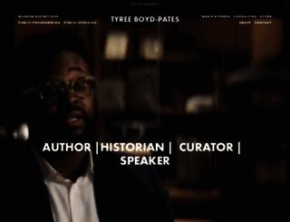 tyreebp.com screenshot