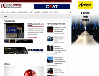 tyrepress.com screenshot