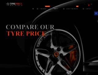 tyrepricemalaysia.com.my screenshot