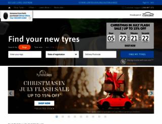 tyresales.com.au screenshot