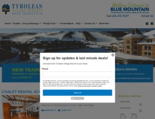 tyrolean.com screenshot