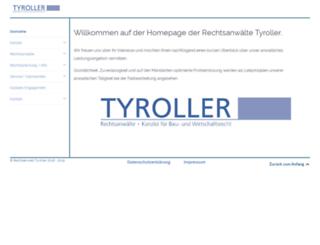 tyroller.info screenshot
