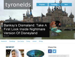 tyronelds.com screenshot
