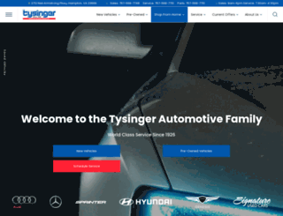 tysinger.com screenshot