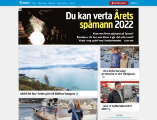 tysnesbladet.no screenshot