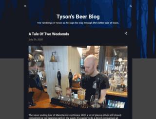 tysonsbeerblog.blogspot.de screenshot