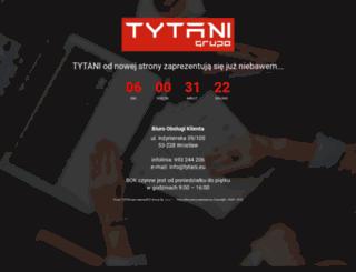 tytanireklamy.pl screenshot