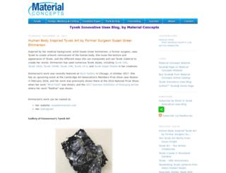 tyvek-blog.materialconcepts.com screenshot