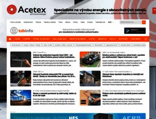 tzb-info.cz screenshot