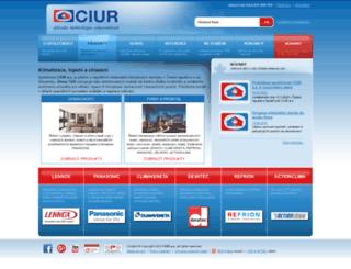 tzb.ciur.cz screenshot