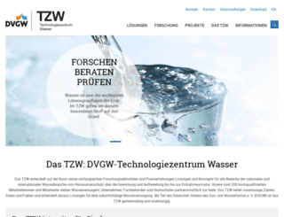 tzw.de screenshot