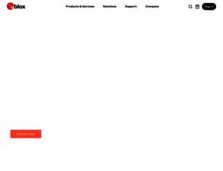 u-blox.com screenshot