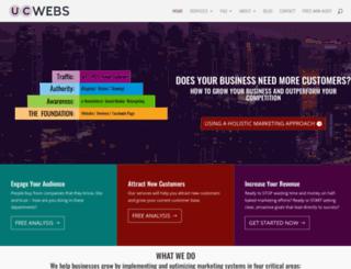 u-cwebs.com screenshot
