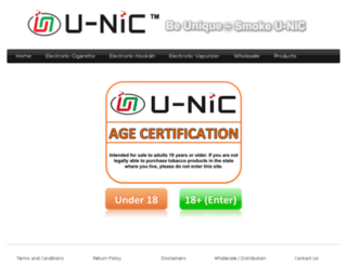 u-niccigs.com screenshot