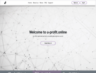 u-profit.online screenshot