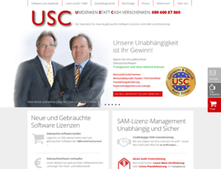 u-s-c.de screenshot
