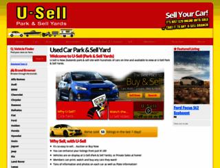 u-sell.co.nz screenshot