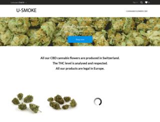 u-smoke.com screenshot
