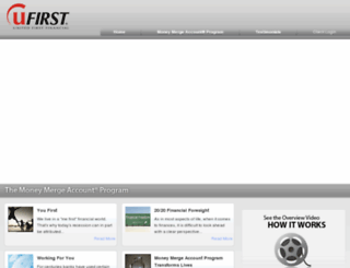 u1stfinancial.com screenshot