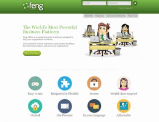 u2.fengoffice.com screenshot