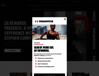 ua.com screenshot