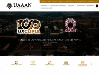 uaaan.mx screenshot