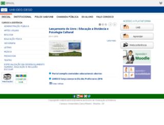 uab.unb.br screenshot