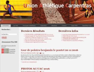 uacarpentras.free.fr screenshot
