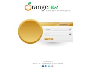 uacorp.orangehrmlive.com screenshot