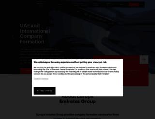 uae-eu.com screenshot