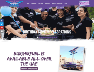 uae.burgerfuel.com screenshot
