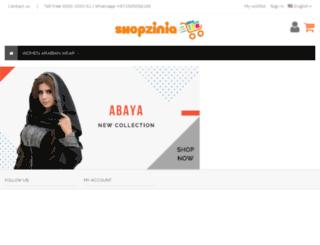 uae.shopzinia.com screenshot