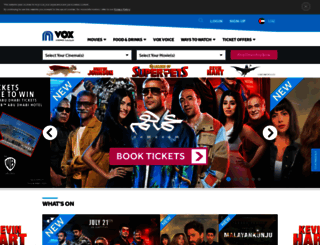 uae.voxcinemas.com screenshot
