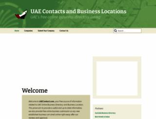 uaecontact.com screenshot