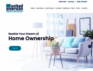 uamco.com screenshot