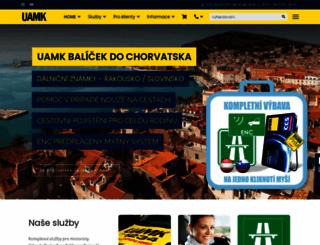 uamk.cz screenshot