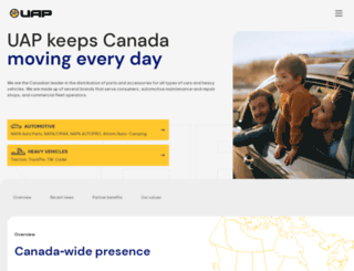 uapinc.com screenshot